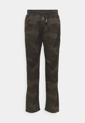 ICON CLASSIC  - Tracksuit bottoms - olive