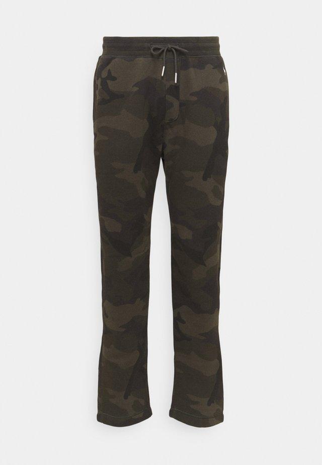 ICON CLASSIC  - Teplákové kalhoty - olive