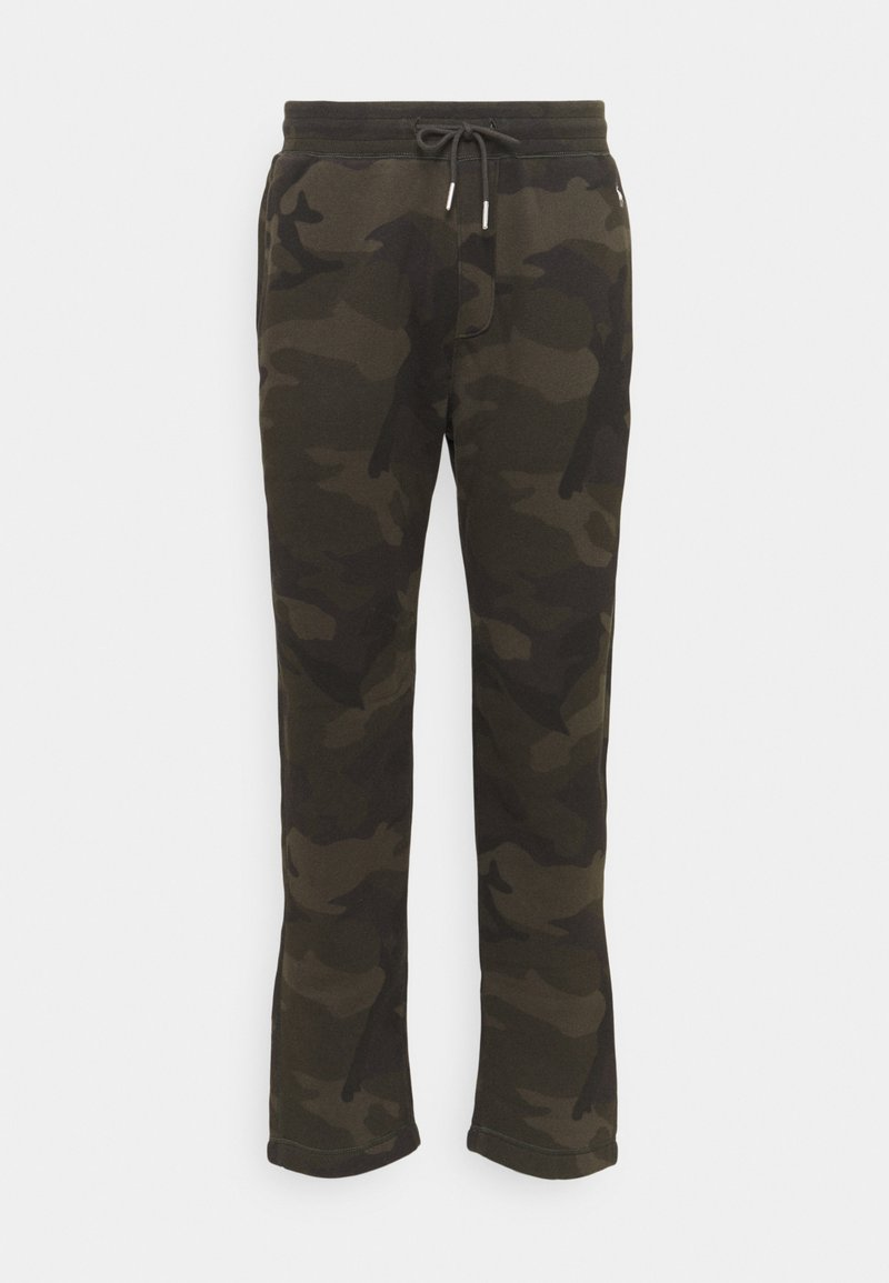 Abercrombie & Fitch - ICON CLASSIC  - Tracksuit bottoms - olive