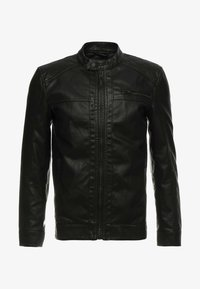 Only & Sons - ONSAL  - Faux leather jacket - black - 3