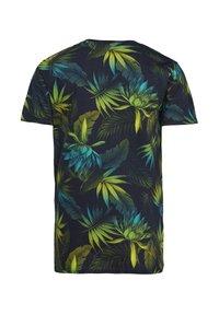 WE Fashion - MIT BLÄTTERMUSTER - T-shirt con stampa - multi-coloured - 1