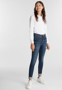 edc by Esprit - Jeans Skinny Fit - blue dark washed - 1