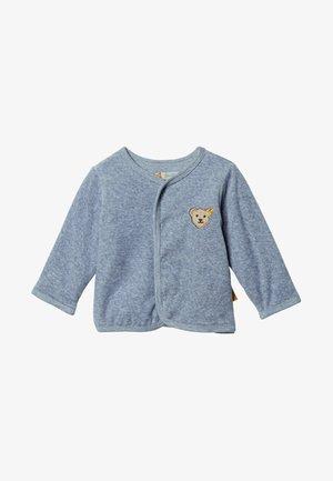 Zip-up hoodie - blue