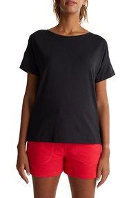 Esprit Sports - Print T-shirt - black - 3