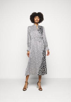 NELL DRESS - Juhlamekko - black / white