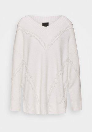 MOZAMBICO - Sweter - white