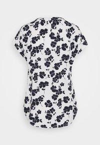 GAP - T-shirts med print - navy white floral - 1