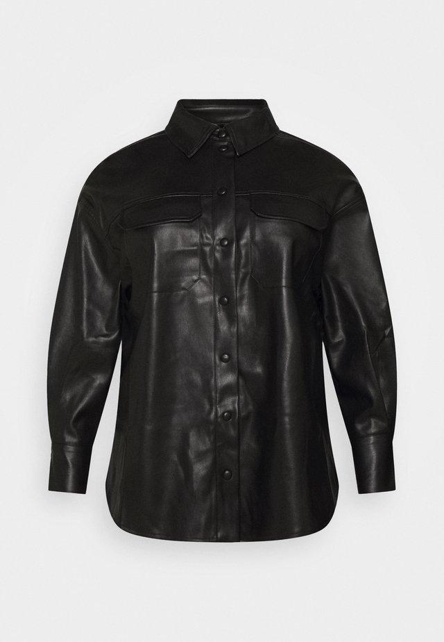VMPAULINA VIP  - Button-down blouse - black