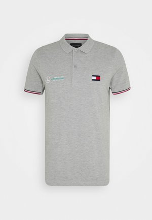 LOGO - Polo shirt - grey