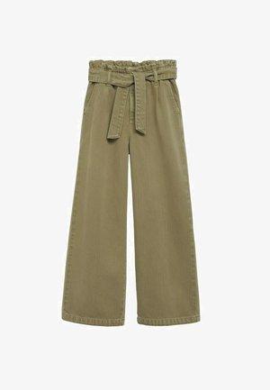 Kalhoty - kaki