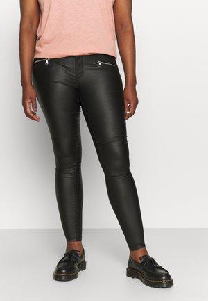 CARANNI COATED PANT - Trousers - black