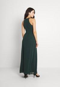 Vila - VIMILINA HALTERNECK MAXI DRESS - Occasion wear - darkest spruce - 2