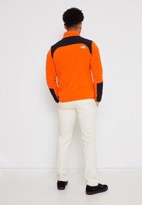 The North Face - GLACIER PRO 1/4 ZIP  - Fleece jumper - flame/black - 3