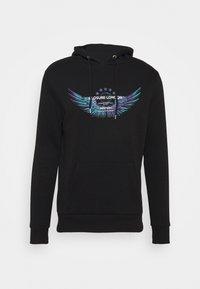 WINGED LOGO HOODY - Sweatshirt - black