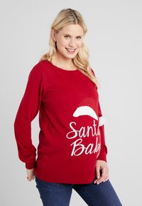 LOVE2WAIT - X-MAS - Strickpullover - red - 0