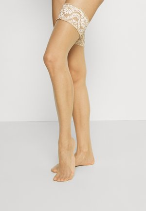 MYSTIQUE - Over-the-knee socks - teint