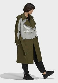 adidas Originals - Dry Clean Only xTRENCH COAT - Classic coat - wild pine - 1