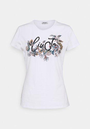 MODA - Print T-shirt - white