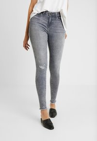 Noisy May Tall - NMLUCY - Jeans Skinny Fit - light grey denim - 0