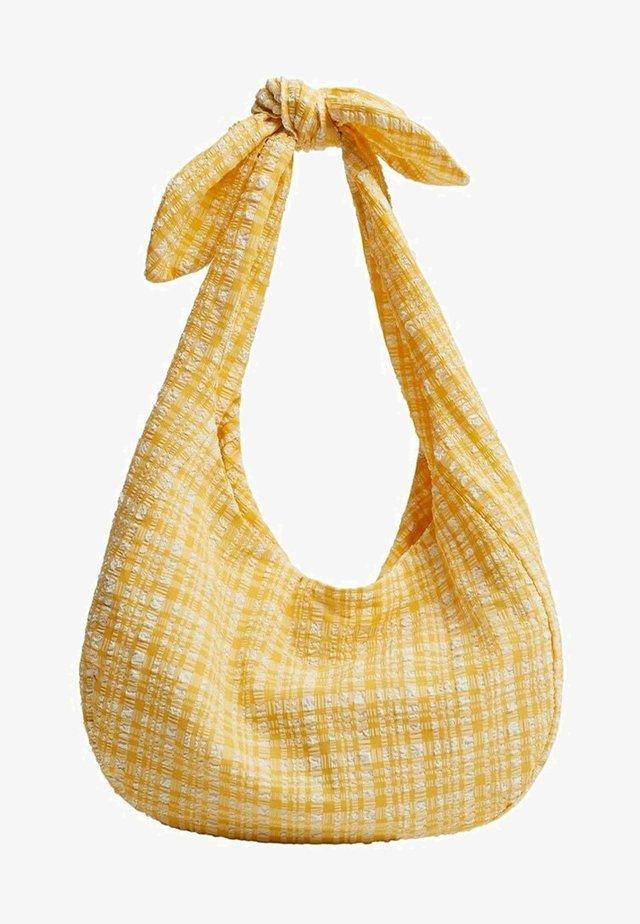 JANE - Kabelka - gelb