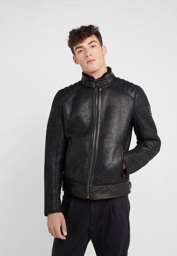 WESTLAKE JACKET - Leather jacket - black