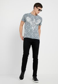 TOM TAILOR DENIM - SUPER PIERS  - Jeans slim fit - black denim - 1