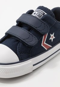 Converse - STAR PLAYER EMBROIDERED - Sneakers basse - obsidian/university red/white - 2