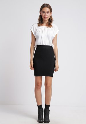 GREASE - Pencil skirt - black