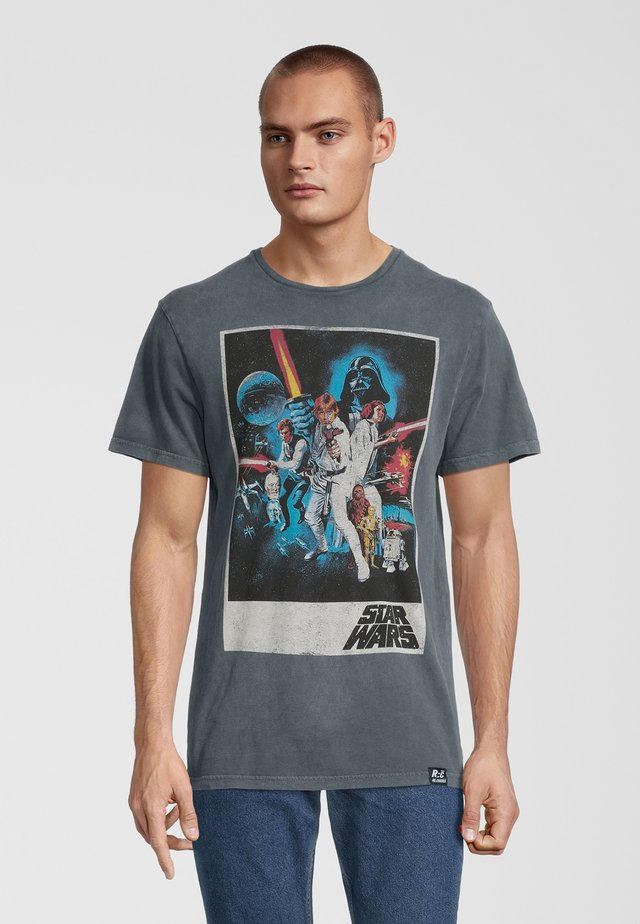 STAR WARS CLASSIC NEW HOPE  - T-shirt con stampa - grau