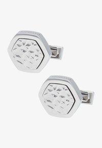 DAVIDOFF - TRACES - Cufflinks - silver coloured - 0