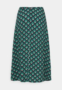 King Louie - JUNO SKIRT EMPEROR - A-line skirt - island green - 1