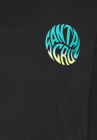 Santa Cruz - UNISEX MAKO - Print T-shirt - black - 2