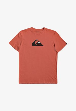 COMP LOGO - Print T-shirt - chili