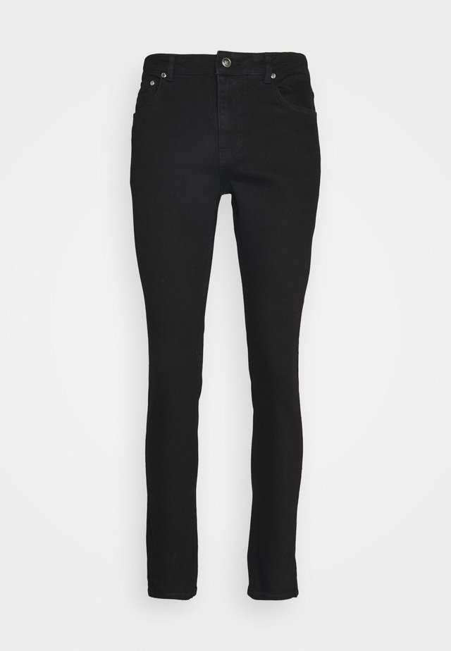 SLIM FIT TAPERED - Slim fit jeans - black