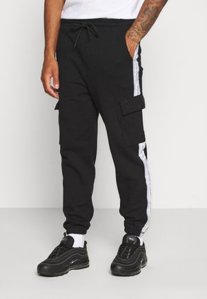 BRANDED MENNACE LIMITED SIDE TAPE  - Tracksuit bottoms - black