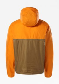 The North Face - M CYCLONE ANORAK - Windbreaker - utilitybrn/ltexuberncorng - 1