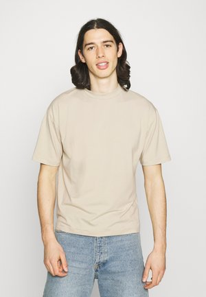 MOCK NECK RELAXED - T-shirt - bas - ecru