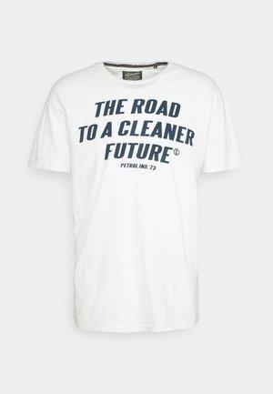 T-shirt imprimé - chalk white
