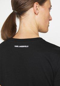 KARL LAGERFELD - IKONIK OUTLINE TEE - T-Shirt print - black - 3