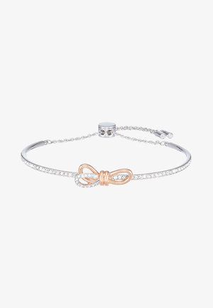 LIFELONG BOW BANGLE - Bransoletka - rosegold-coloured/silver-coloured