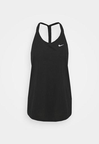 DRY ELASTIKA TANK - T-shirt sportiva - black/white
