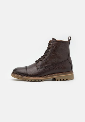 ALPERTON - Lace-up ankle boots - brown