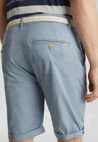 Esprit - MIT GÜRTEL - Shorts - grey blue - 5
