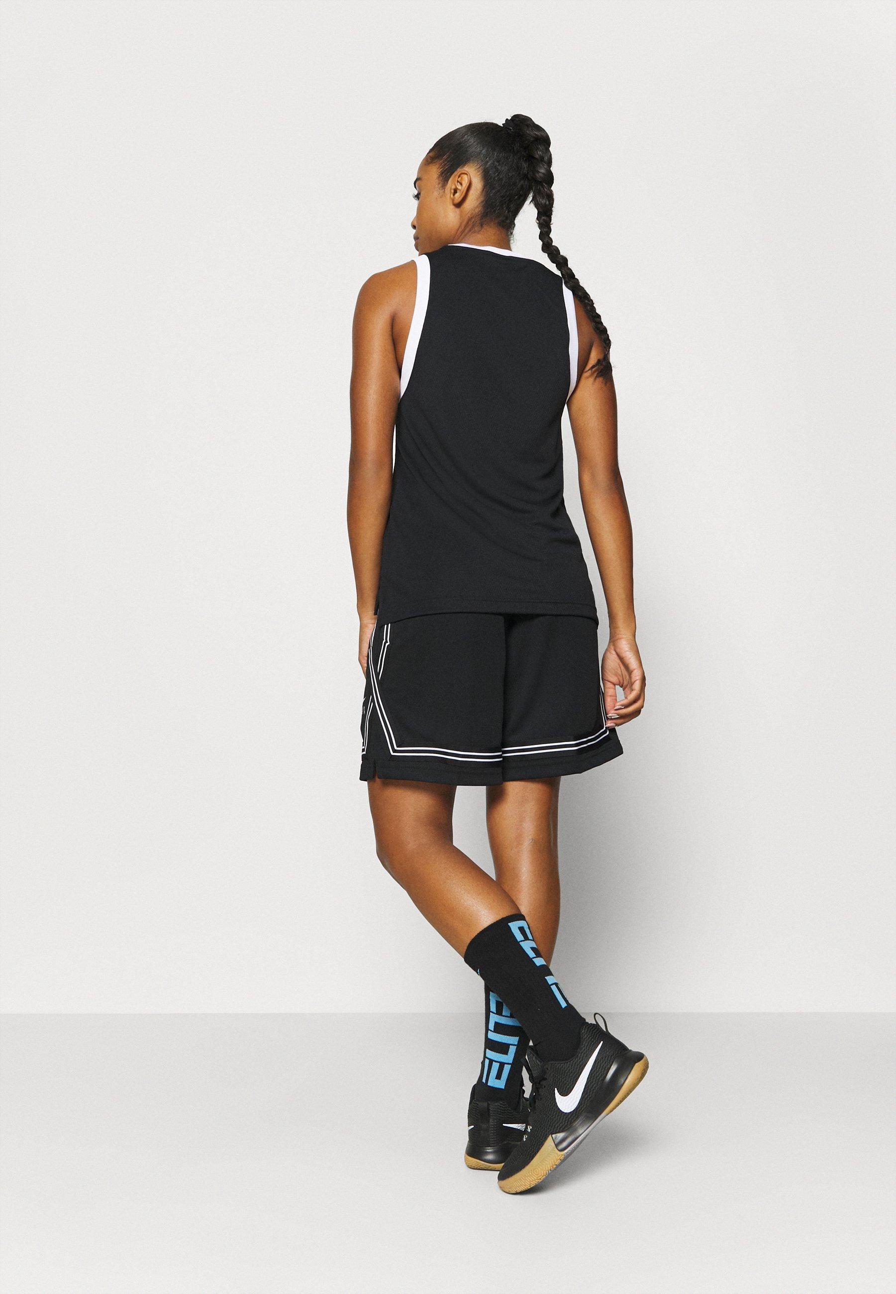 Nike Performance FLY CROSSOVER SHORT - Sports shorts - black/white 5SBCI