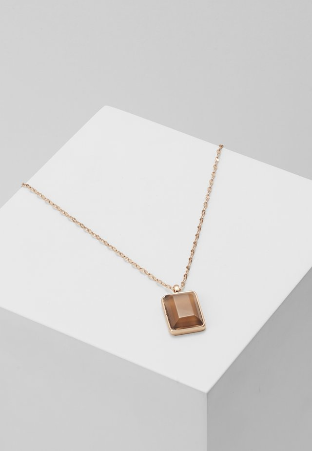 NECKLACE VERDANDI - Necklace - rose gold-coloured