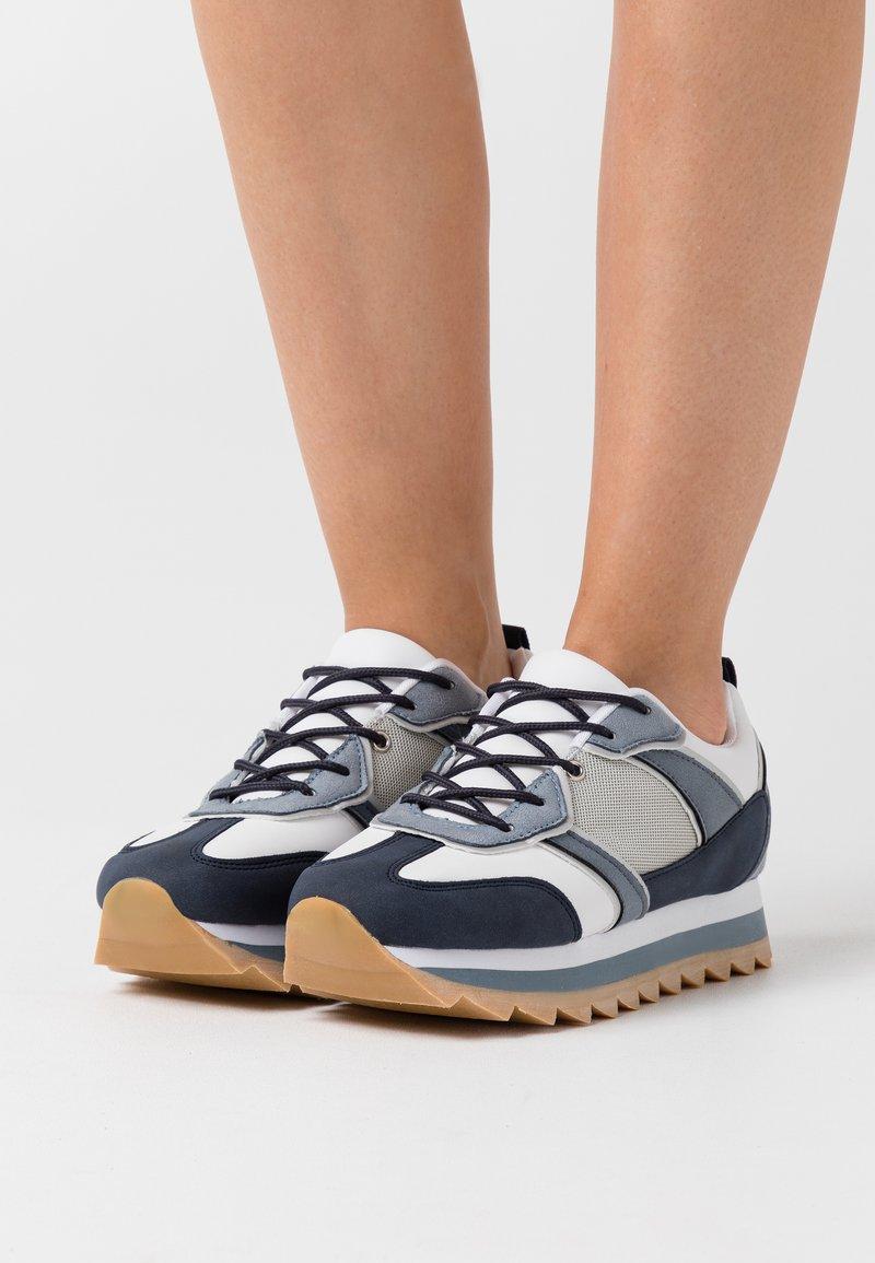 Even&Odd - Zapatillas - white/blue