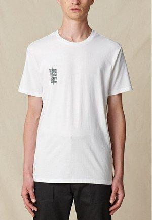 REFUSE BUBBLEGUM TEE - T-shirt print - white