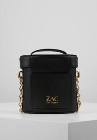 ZAC Zac Posen - BELAY MINI TOP HANDLE CANTEEN SOLID - Umhängetasche - black - 2