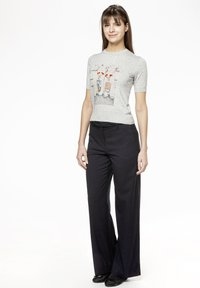 Rosa & Me - POLLY - Print T-shirt - grey - 1