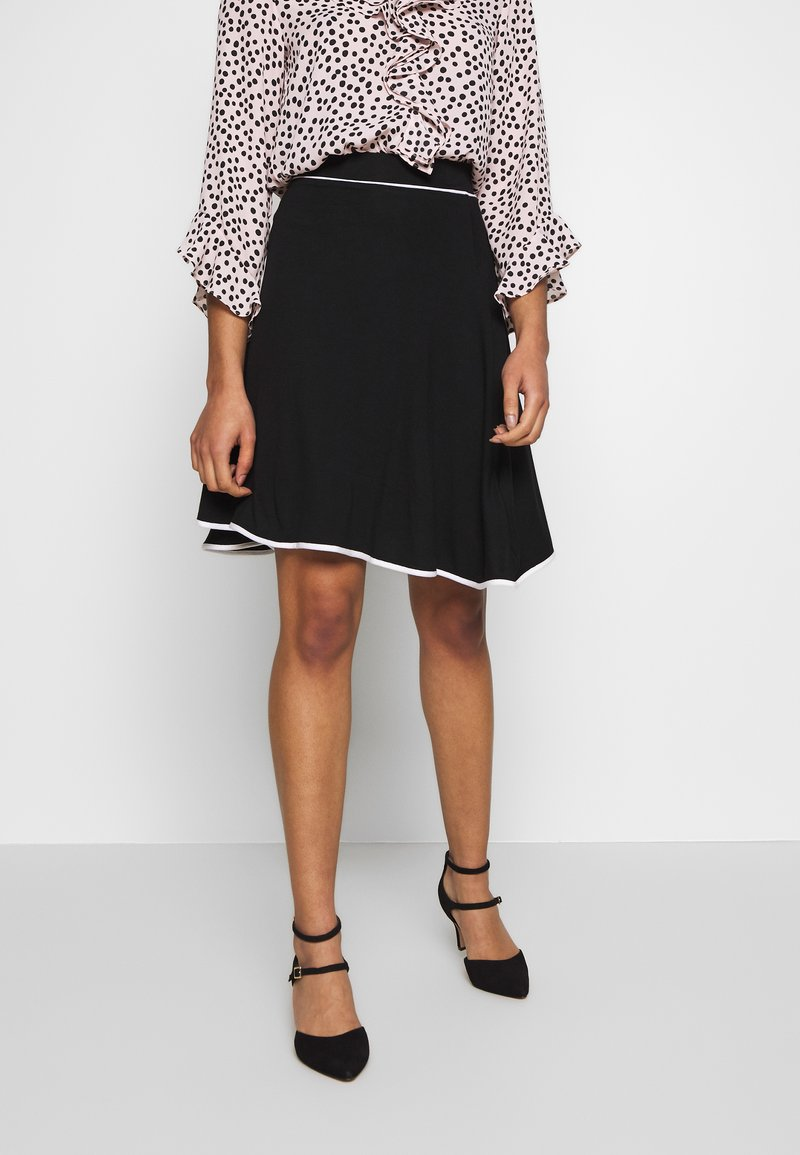 Anna Field Petite - FLARED SKIRT - A-line skirt - black